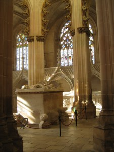 The funerary chapels of the Kings João I and Duarte in Batalha, c. 1426-1434 (photo: Miguel Metelo de Seixas)