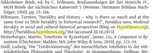 Werden Blogs doch zitiert? Abbildung:  Steckel/Gaul/Grünbart (Hg.), Networks of Learning: Perspectives on Scholars in Byzantine East and Latin ..., Münster 2014, S. 310.