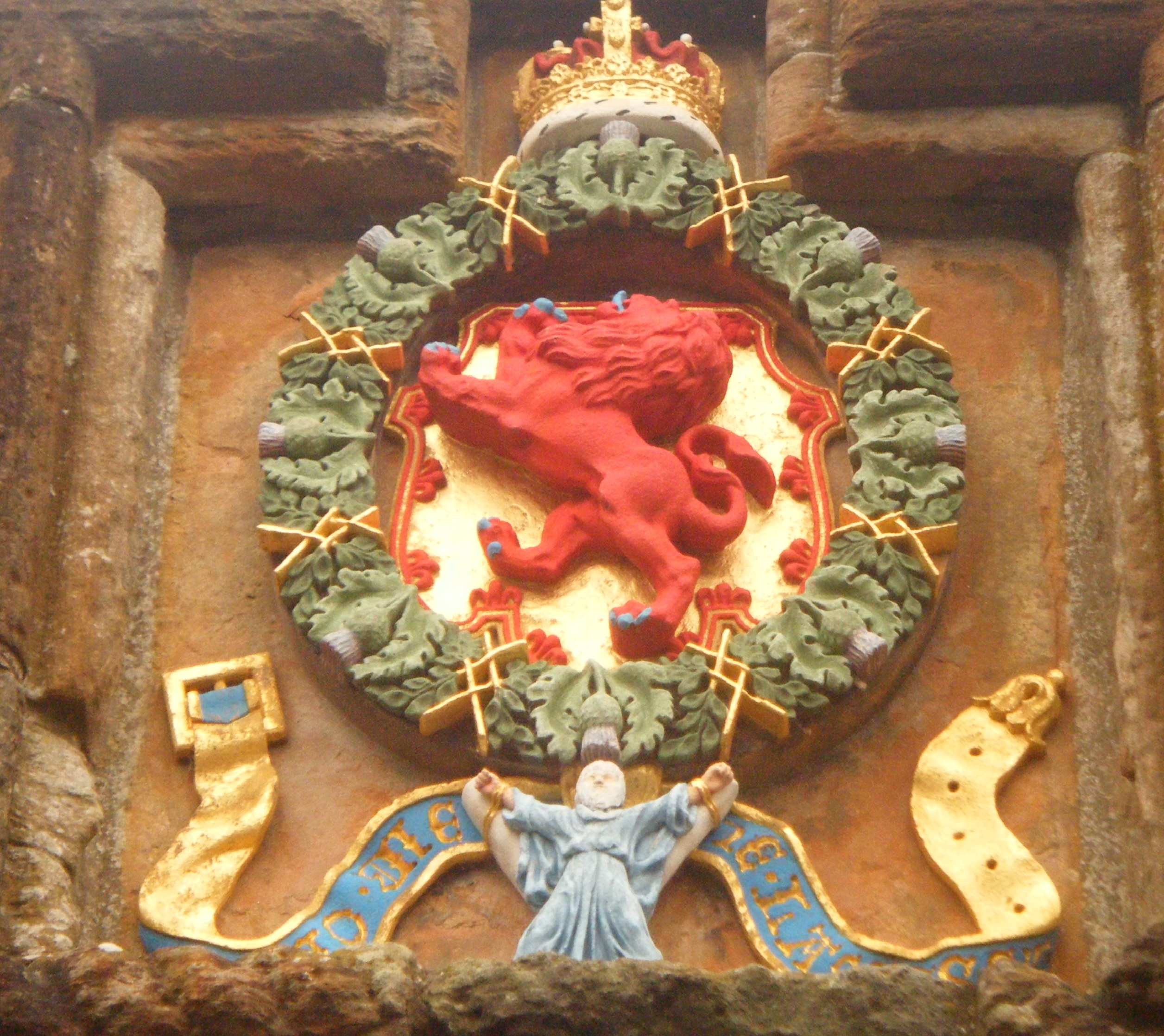 Heraldic Panel At Linlithgow Palace Installed By James V In The Mid1530s: Meval Royal Wedding Rings At Websimilar.org