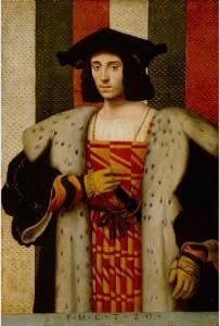 Bernardino Conti, A Gentleman of the Trivulzio Family c.1510, Detroit Institute of the Arts