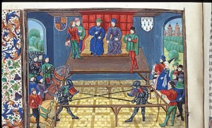 The Court of Chivalry. (Source: University of Exeter)