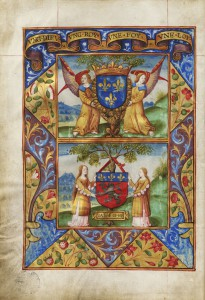 Garbeau de l'épicerie, 1519, Archives municipales de Lyon, CC4292, f°1v°