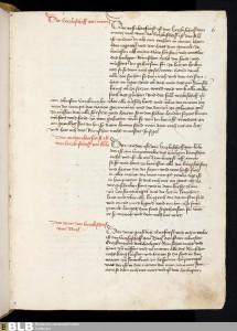 Hier nicht zu sehen: Die Wappen der drei geistlichen Kurfürsten. Keine Wappen der weltlichen Kurfürsten sieht man auf fol. 5v und 6r.