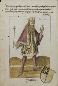 Pippin. Dresden, SLUB, Mscr. p. 47, f.18v