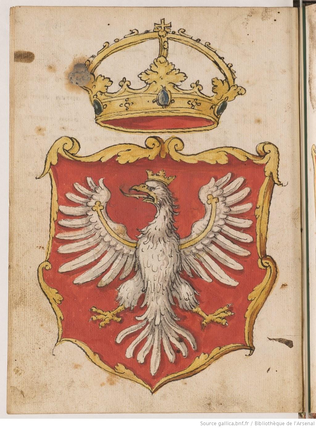 Insignia Seu Clenodia Regis Et Regni Poloniae ältestes Polnisches